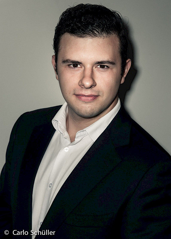 Pavel Petrov from Belarus sings in Mozart's opera