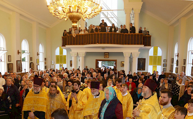 Patronal feast day in the Peter and Paul Cathedral -2019