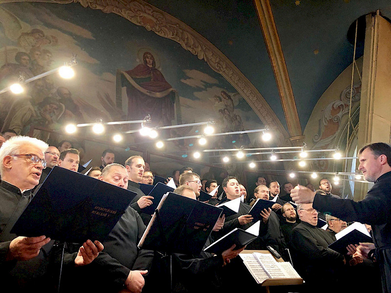 Australians sing in the Kremlin Cathedral