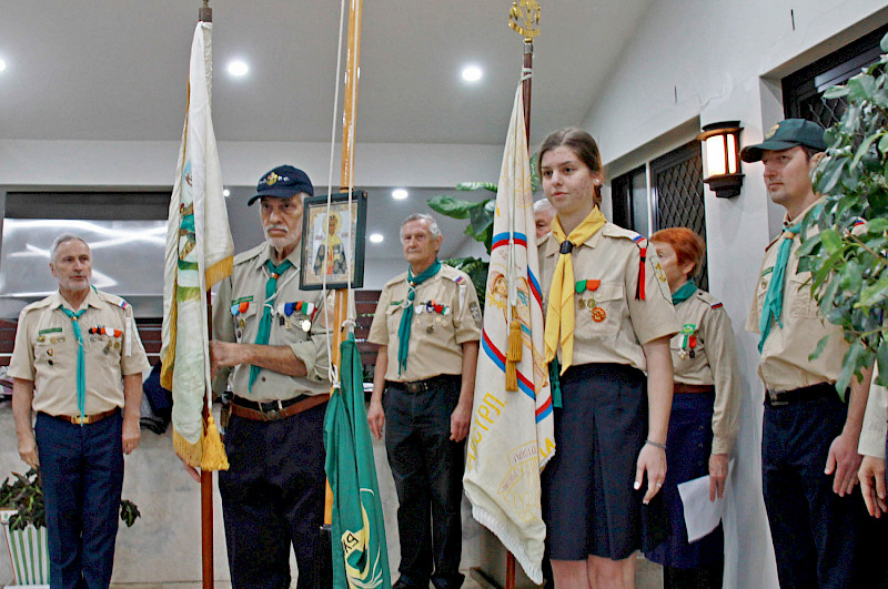 Scouts celebrated St. Olga's Day