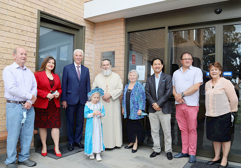 A new stage of construction completed in the Intercession parish in Cabramatta