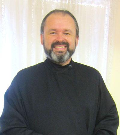 Диакон К.Симовских Литургия в Брисбене октябрь 2012