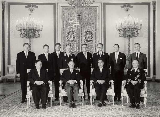 Вручение грамот послом Австралии 1960 г
