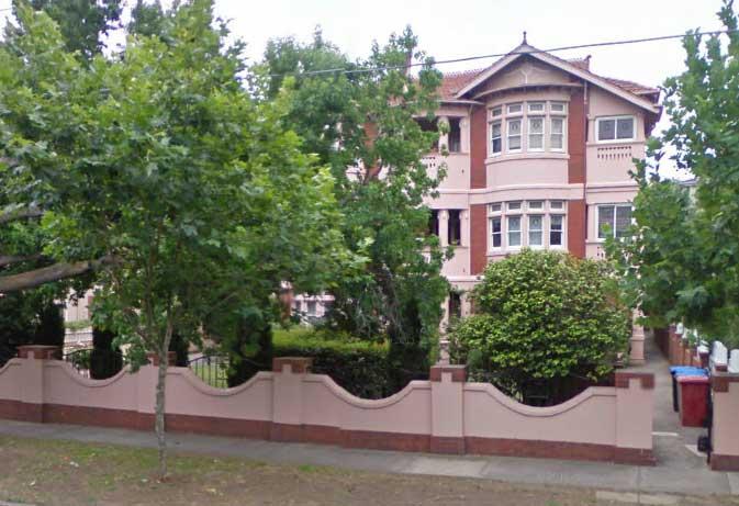 Дом 325 на Данденонг Роуд, Prahran
