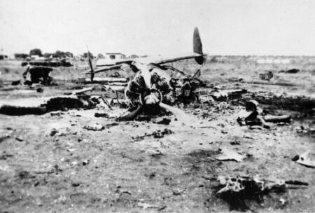 Последствия атаки японцев на Брум