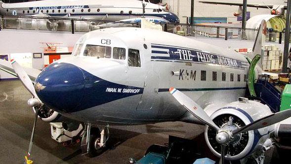 Самолет Iwan Smirnoff в голландском музее авиации