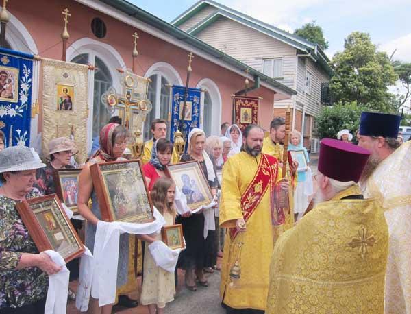 Престольный праздник собора в Брисбене