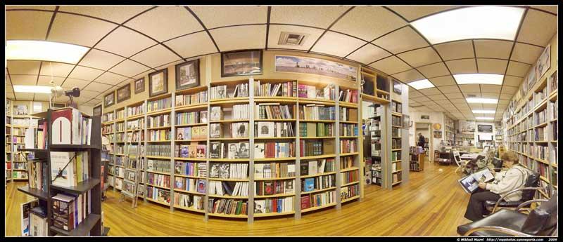 Книжный магазин в Нью-Йорке
