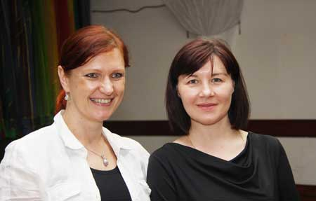 Новые руководители РОЦК Лена Ильина и Лена Пахомова