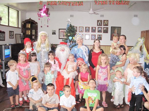 Рождество в Ньюкасле, Австралия