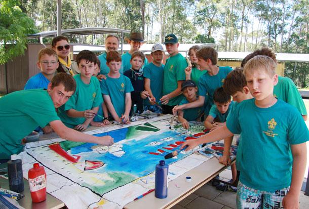 Скауты НОРС Австралия 2012