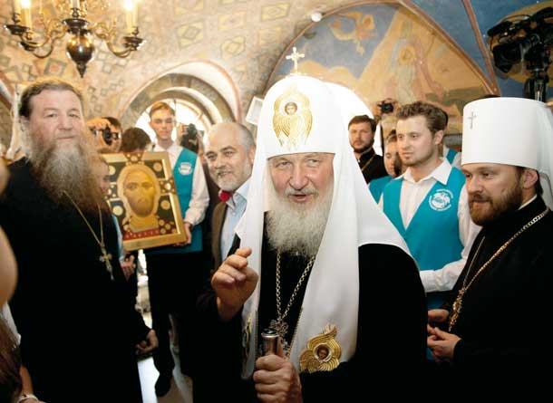 На Патриаршей литургии 2011