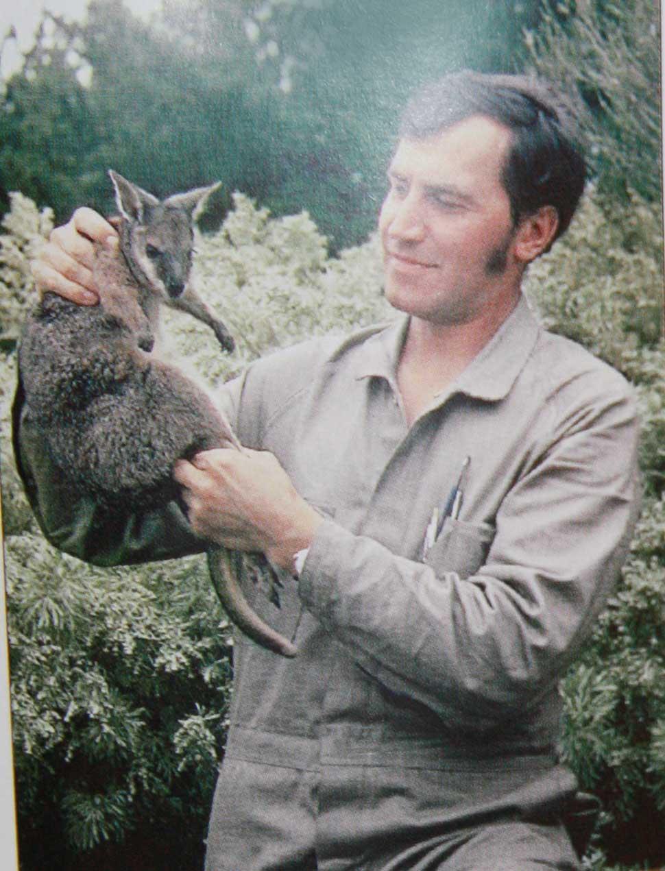 Н.Дроздов в Австралии, 1972г. Из книги