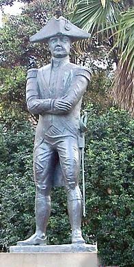 Памятник капитану Блай в Сиднее