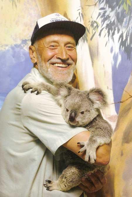 Н.Н.Дроздов в Австралии