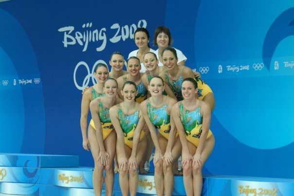 Австралийская сборная на Олимпиаде в Китае