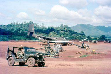 Военный аэродром в Нуи Дат