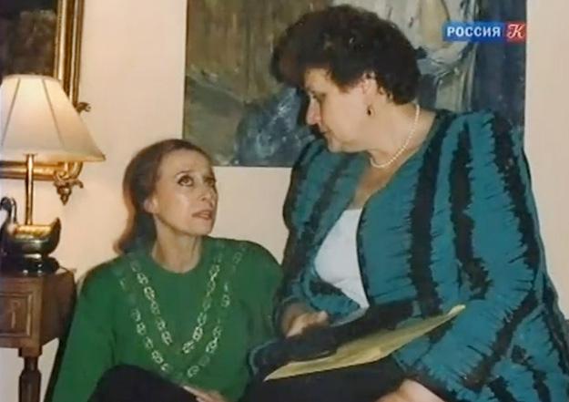 С Майей Плисецкой