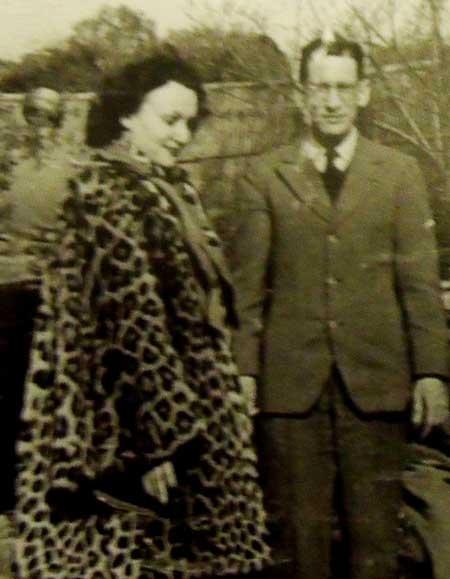 Нора с Валерием Перелешиным