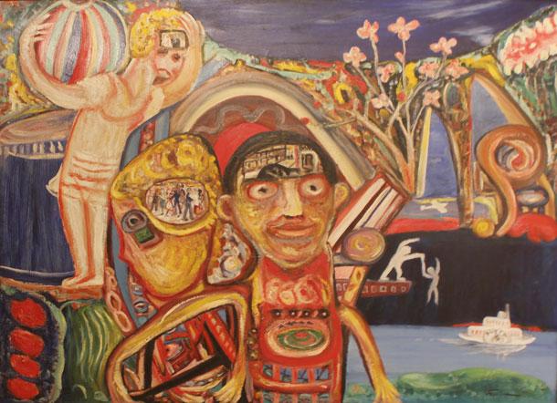 На выставке Данилы Васильева, Мельбурн