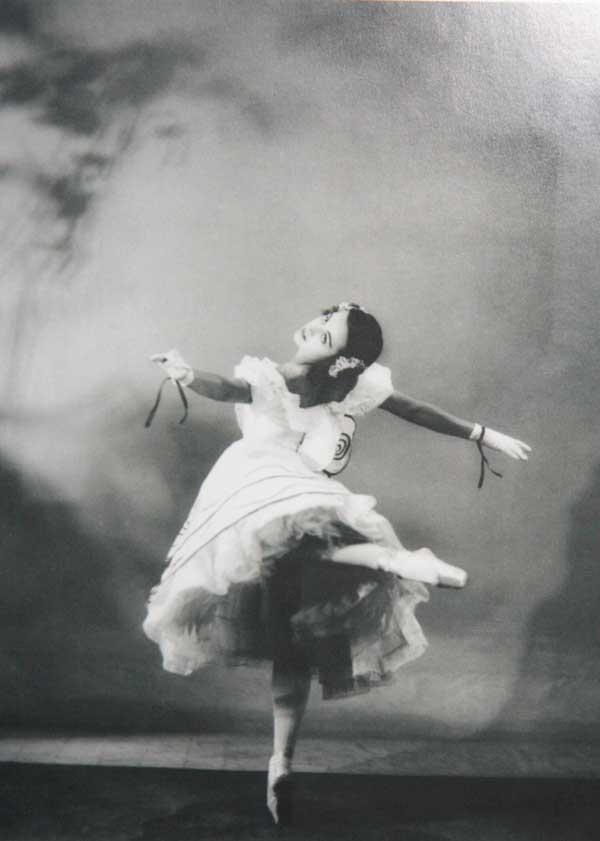 Анна Волкова, балерина Ballets Russes