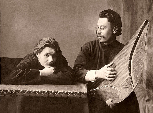 М.Горький и С.Скиталец