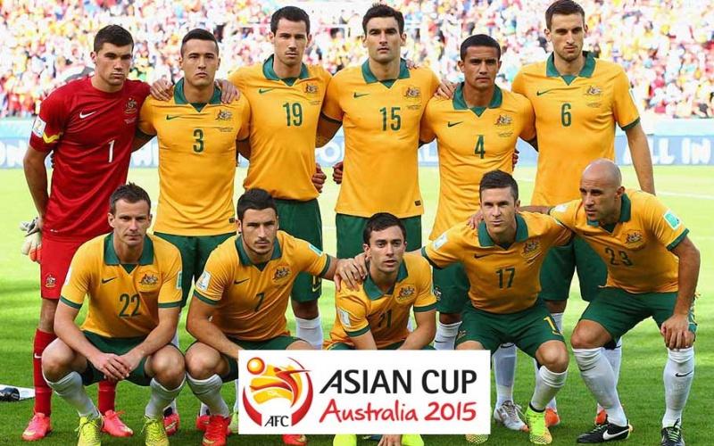В футбол австралии